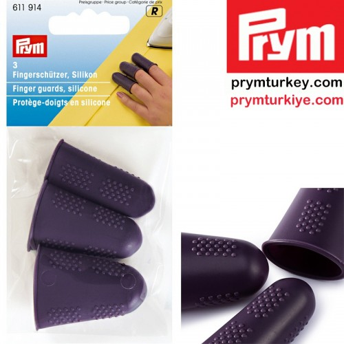 PRYM - PRYM 611914 SİLİKON PARMAK KORUYUCU (3 LÜ)