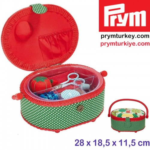 PRYM - PRYM 612010 DİKİŞ KUTUSU (S) RESİMLİ