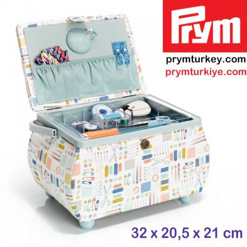 PRYM - PRYM 612045 DİKİŞ KUTUSU (L) İĞNE İPLİK