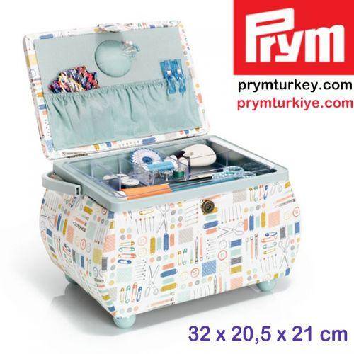 PRYM 612045 DİKİŞ KUTUSU (L) İĞNE İPLİK