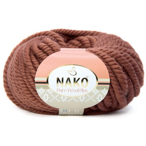 NAKO - PURE WOOL PLUS 10271 KIZIL TUĞLA