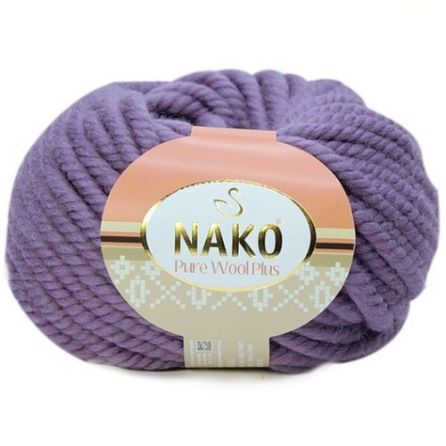 NAKO - PURE WOOL PLUS 10506 ÜZÜM SUYU
