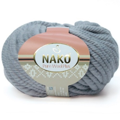 NAKO - PURE WOOL PLUS 11478 GRİ
