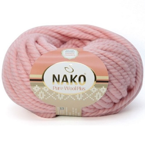 NAKO - PURE WOOL PLUS 11480 PUDRA