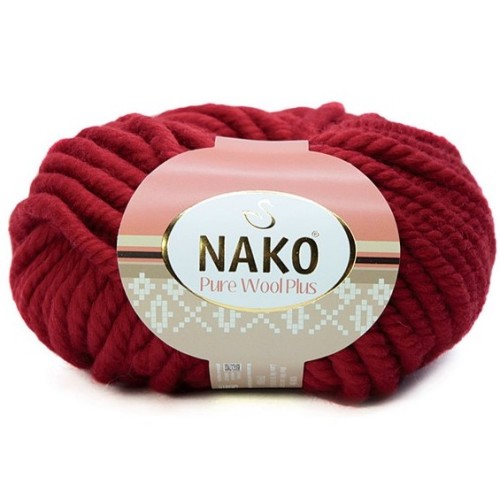 NAKO - PURE WOOL PLUS 1175 KOYU KIRMIZI