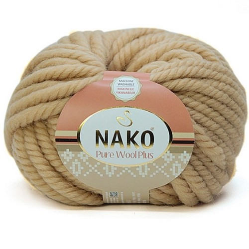 NAKO - NAKO PURE WOOL PLUS 1670 NOHUT