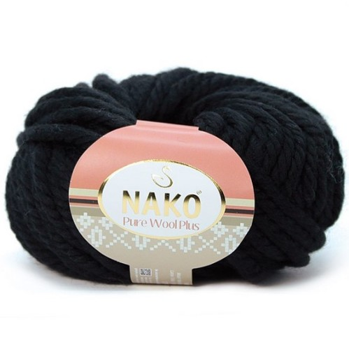 NAKO - PURE WOOL PLUS 217 SİYAH