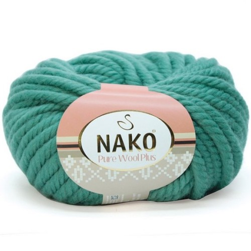 NAKO - PURE WOOL PLUS 2271 FİLİZ YEŞİL