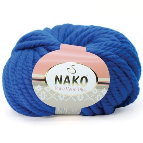 NAKO - PURE WOOL PLUS 5329 ROYAL MAVİ