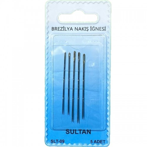 SULTAN - SLT-09 BREZİLYA NAKIŞ İĞNESİ