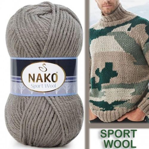 NAKO - NAKO SPORT WOOL 922 FİL DERİSİ