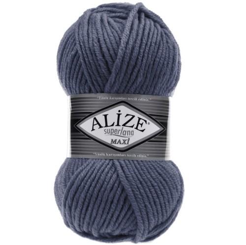 ALİZE - ALİZE SUPERLANA MAXİ 381 HİMALAYA DENİM