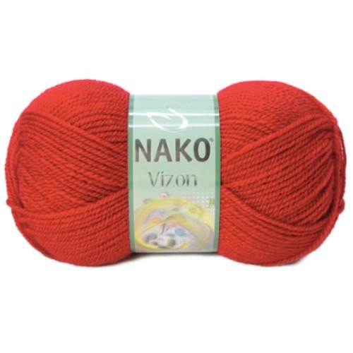 NAKO - VİZON 251 BAYRAK KIRMIZI