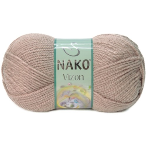 NAKO - NAKO VİZON 257 SÜTLÜ KAHVE