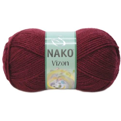 NAKO - NAKO VİZON 999 BORDO